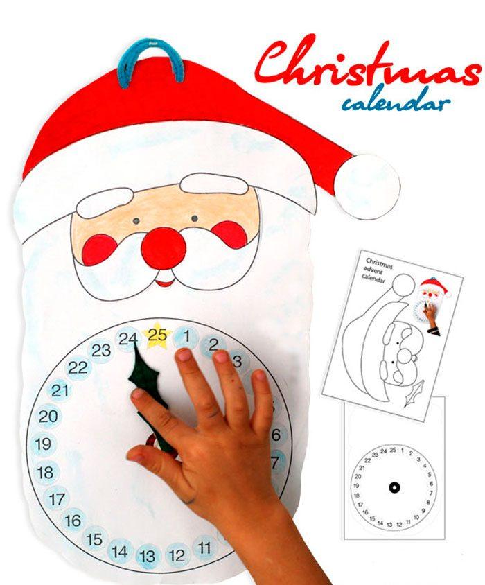 Рождественский календарь «Санта»
