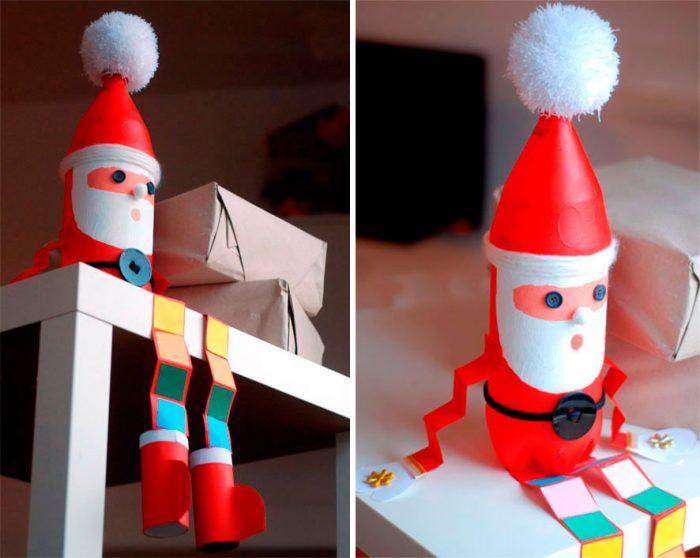 Дед Мороз из бутылки