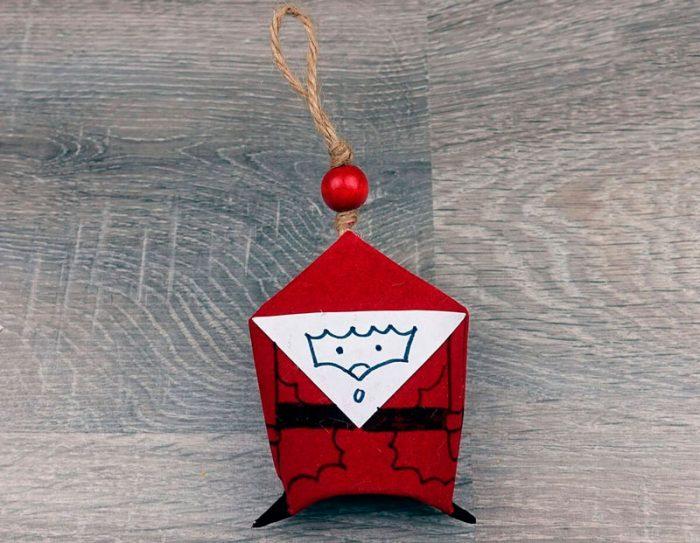 Дед Мороз из втулки