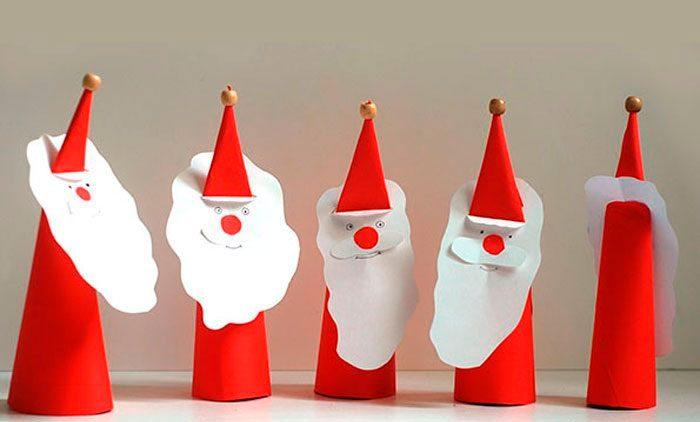 Бумажный Санта