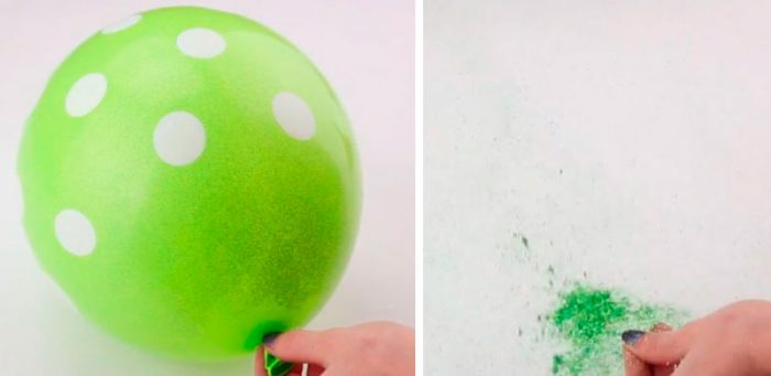 Хлопушка из шарика