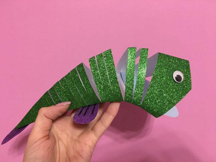 Движущаяся 3D рыбка
