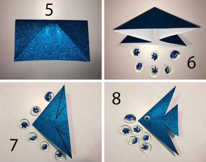 рыбка оригами пошаговый мастер-класс