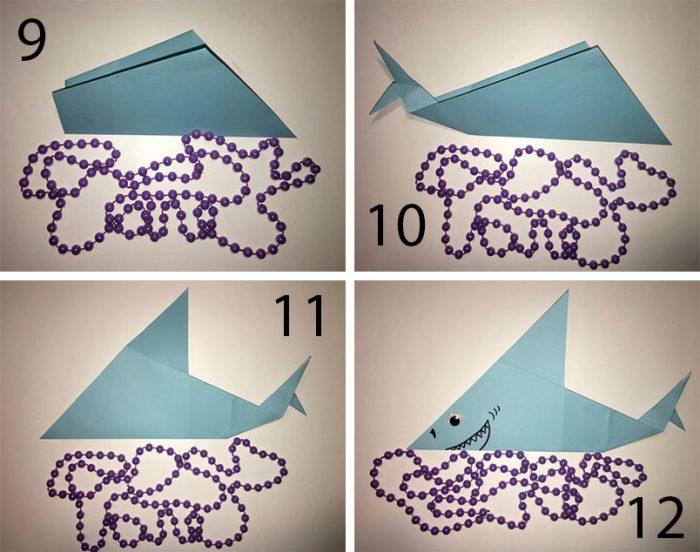 Рыбка оригами мастер-класс