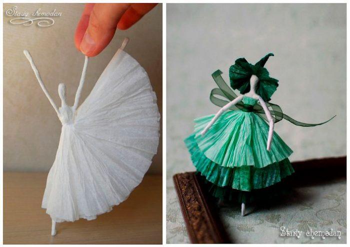 балерины пошагово