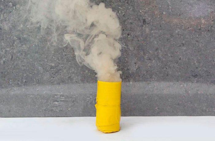 Дымовая граната своими руками