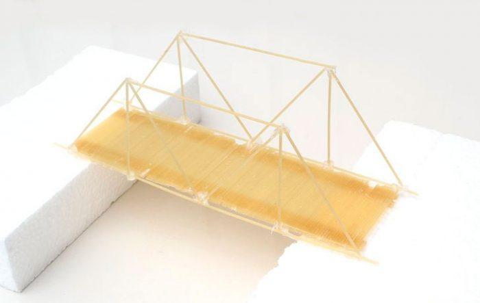 Мост из спагетти пошагово