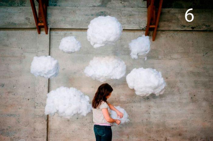 облака из ваты мастер-класс