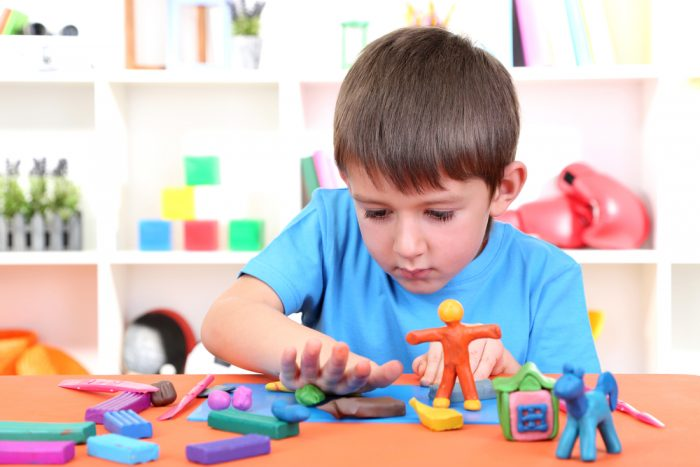 Фигурки из пластилина для детей