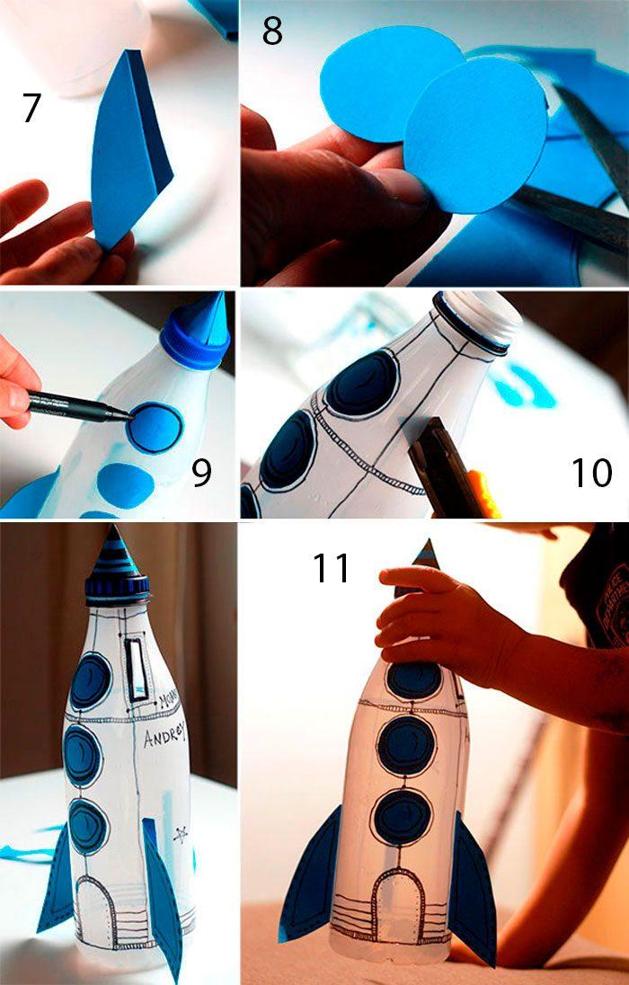 ракета из бутылки мастер-класс