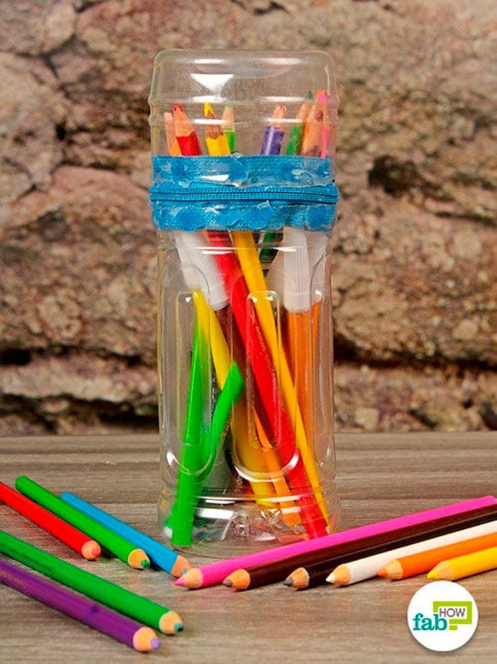 Пенал из пластиковых бутылок