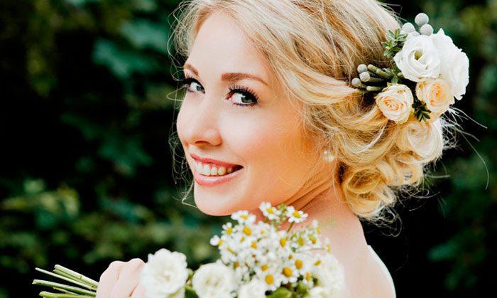 Свадебное украшение волос