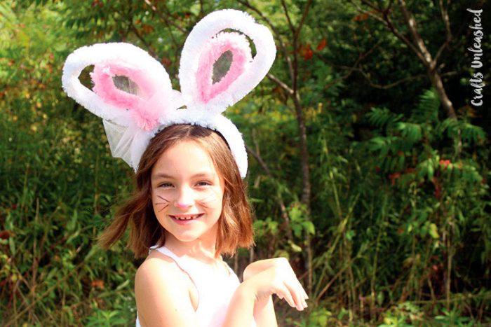 Ушки зайца из мягкой проволоки