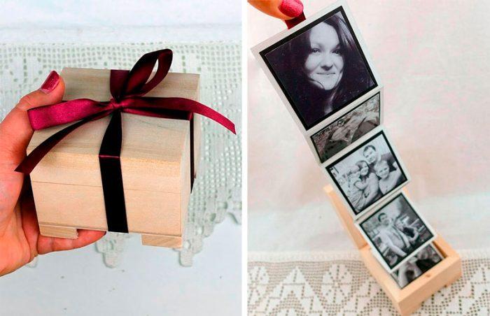 Коробочка с фотографиями