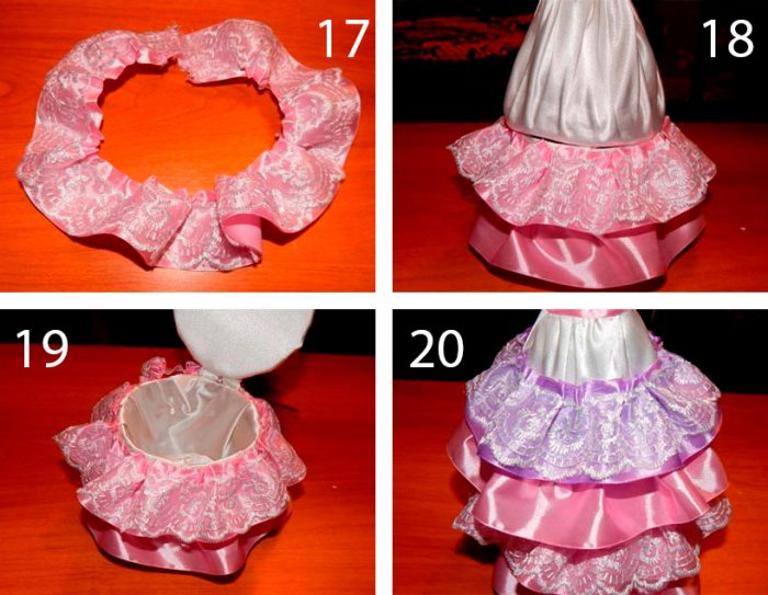 как сделать куклу-шкатулку