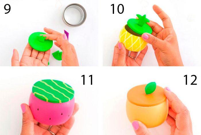 как сделать шкатулку фрукт
