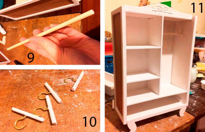 шкаф для куклы пошаговый мастер-класс