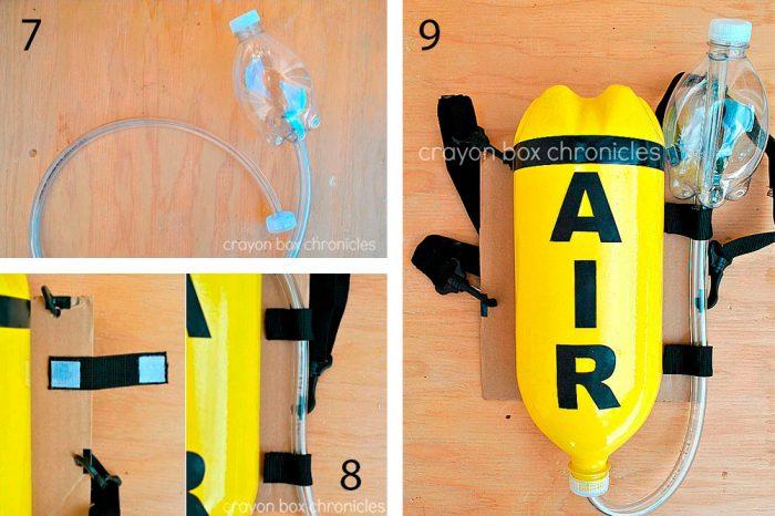 Кислородный балон мастер-класс