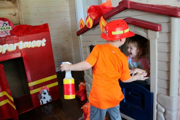 Поделка детский огнетушитель