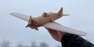 Самолёты из бумаги и картона