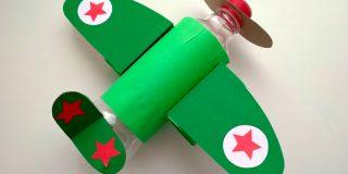 Самолеты из пластиковых бутылок