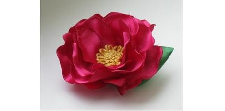 Создание атласной розы