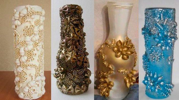 Изделия вазы своими руками