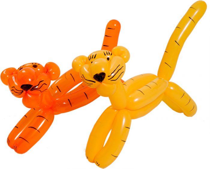 тигренок из шариков