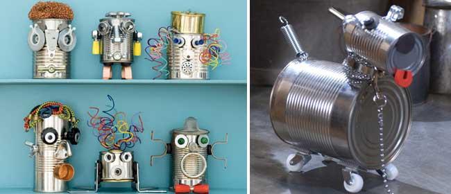робот из консервных банок