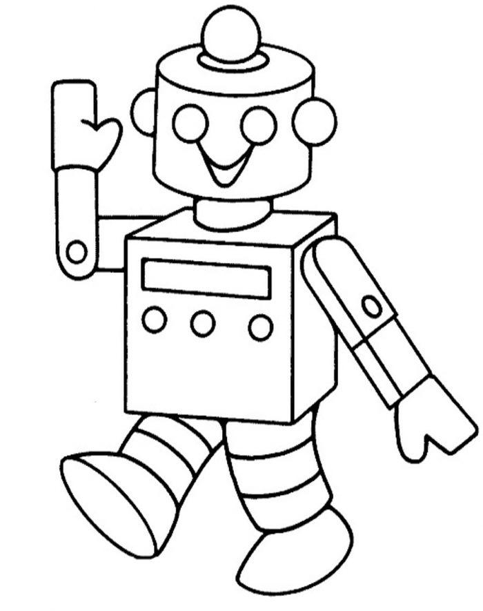 рисунок робота