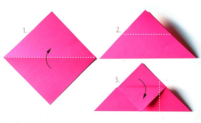 Как сделать квадратный конверт из бумаги а4
