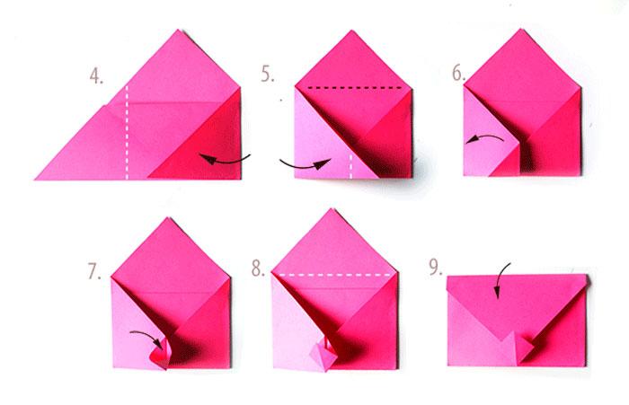 Как сделать конверт из бумаги а4 для письма