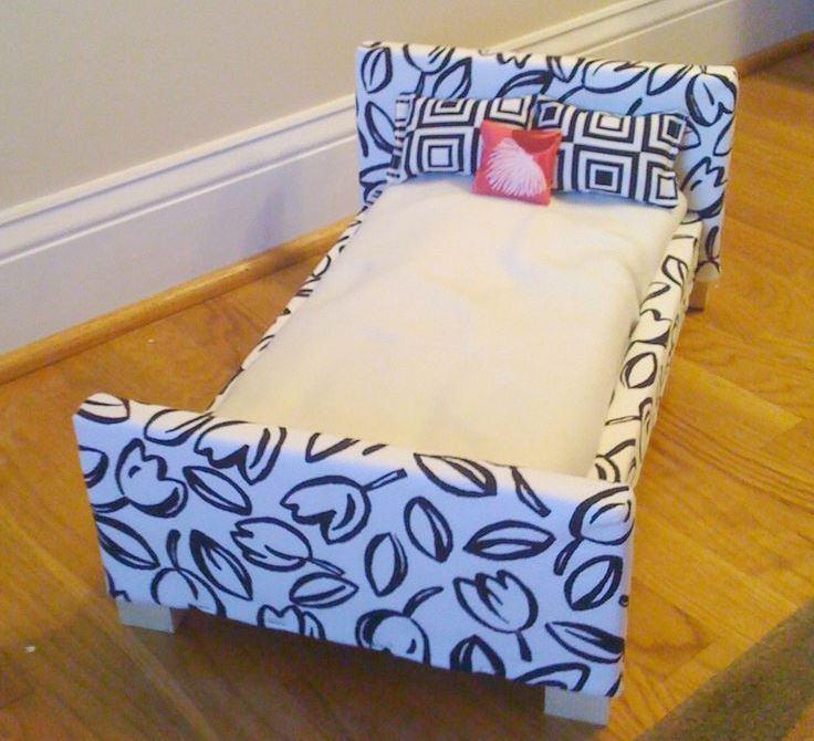 Как сделать из картона кровать для кукол барби