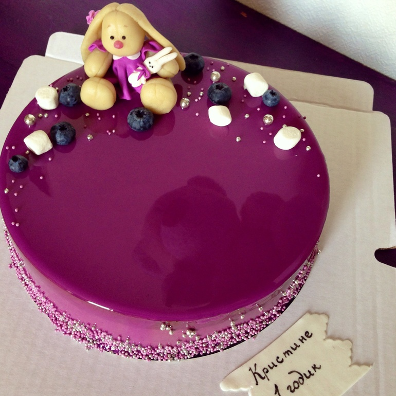 Глянцевая глазурь для торта рецепт с фото пошагово